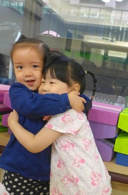 抱抱我的朋友