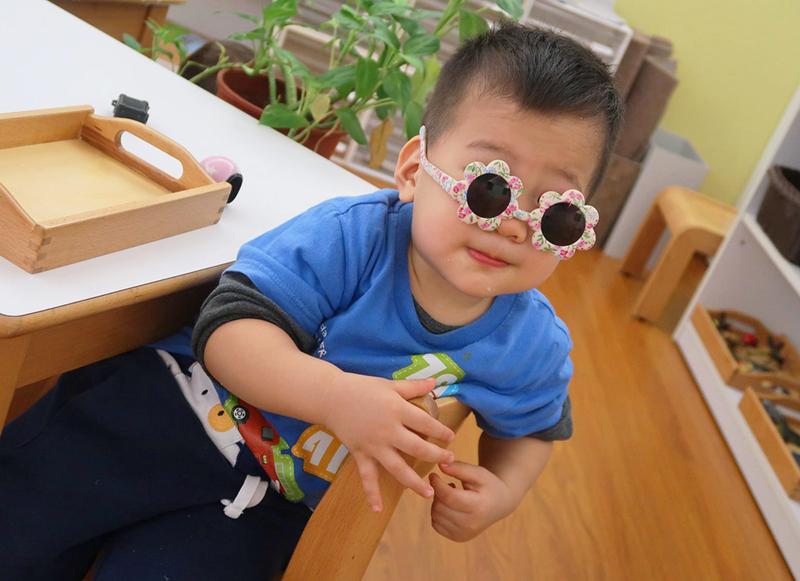 戴太陽眼鏡出去玩!