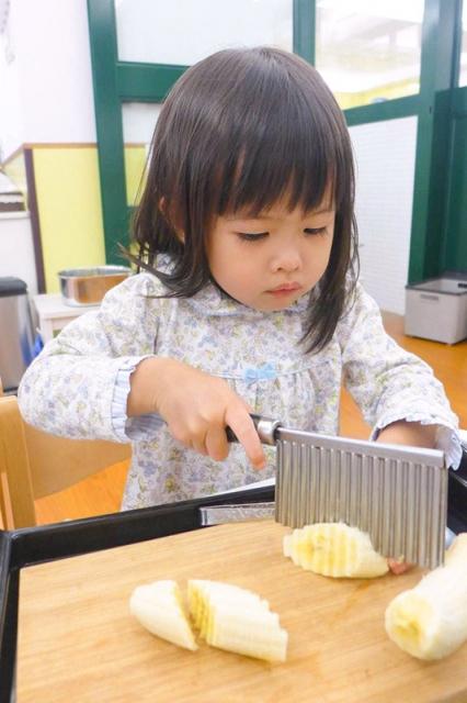 蒙式經典工作:切香蕉