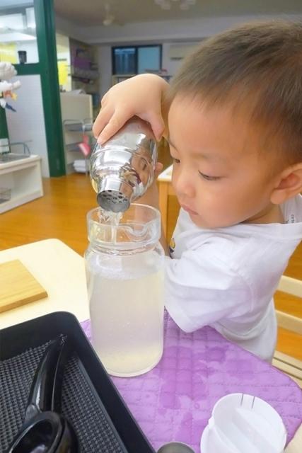 鮮榨檸檬汁完成!