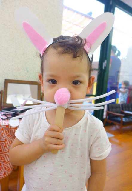 我是可愛兔寶寶!
