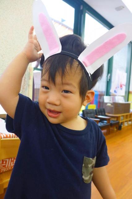自己的兔耳朵自己做!